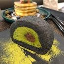 Matcha Azuki Roll Cake ($6)