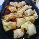 Fresh Meat Dumplings with Chilli Oil($4.30)