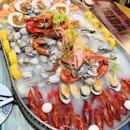 Seafood Platter($118)(2-4pax)🦀🦞🦐