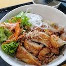 Bún Thịt Nướng(Grilled Meat Noodles)($4.80)😋
