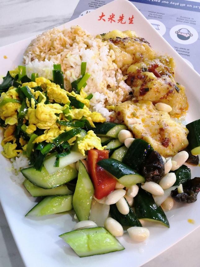 Mixed Rice(Total - $5.10)