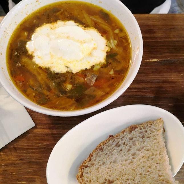 Ukrainian Borscht Soup($9.50)🍲