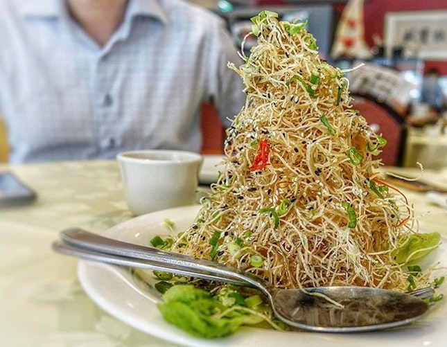 Truffle Crispy Yam, an innovative dish to highlight after 2nd visit.