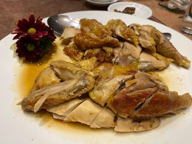 Baked Salted Chicken