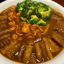 Braised Sea Cucumber + Abalone