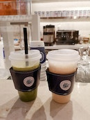 Matcha Latte And Oolong Latte