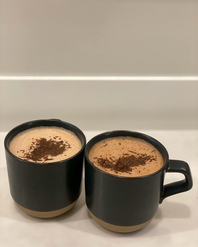 64% And 68% Single Origin Hot Chocolate