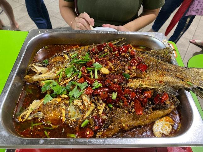 Mala Grilled Fish $25