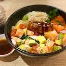 Foie Gras & Salmon Bara Chirashi Don $18.80