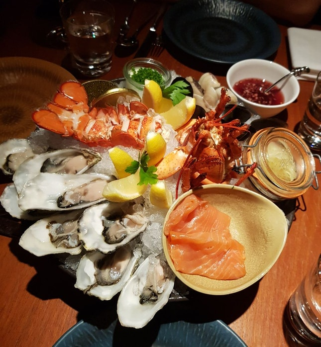 Seafood Platter for 4 ($198++)