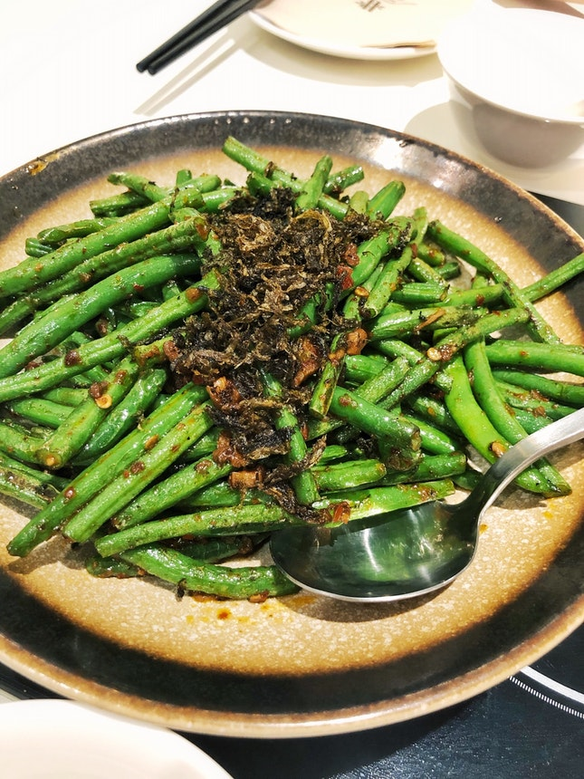Stir-Fried French Beans With Spicy Sauce