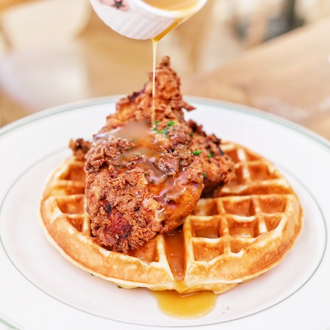 Chicken and Waffle [$19++]