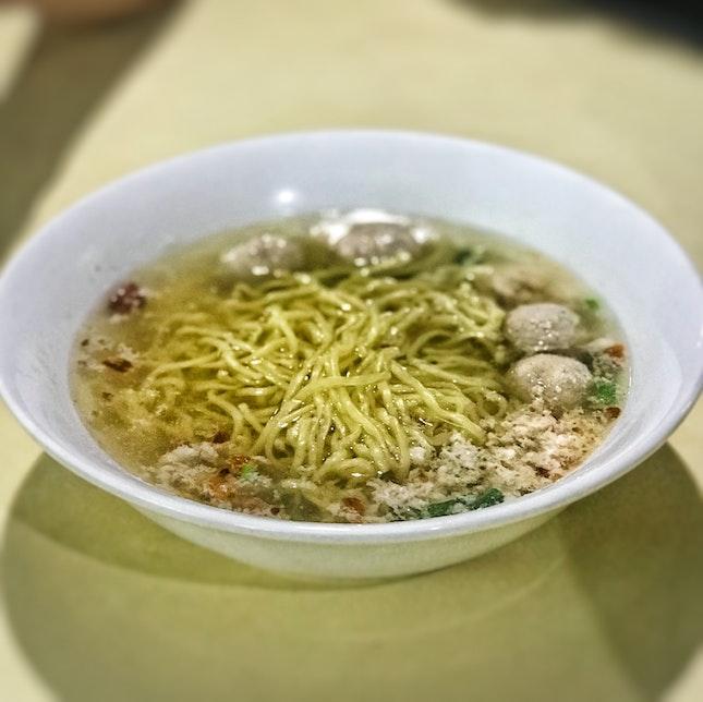 Soup Bak Chor Mee ($2.50/3)