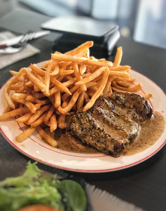 Trimmed Entrecôte Steak ($28++)