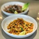 Prawn & Hae Bi Hiam Pasta ($19++)