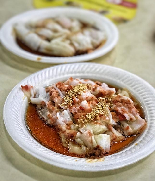 Char Siew Chee Cheong Fun ($3)