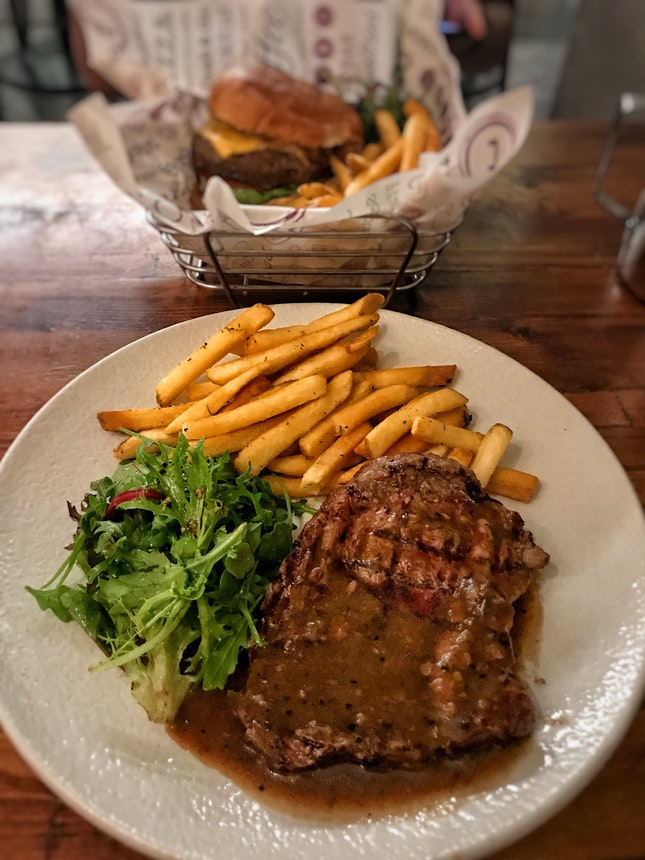 Rib Eye Steak ($26++ for 250g)