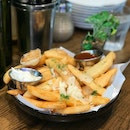 Garlic Truffle Fries ($16+)