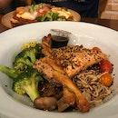 Salmon Furikake Bowl ($14)