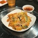 Seafood Pancake ($8.80++)