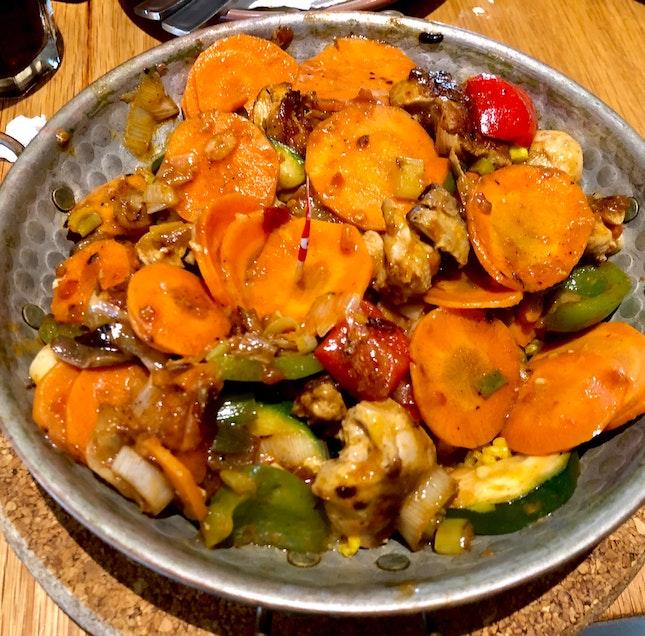 Grilled Chicken Cataplana
