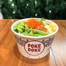 Regular Poke Bowl $12.50