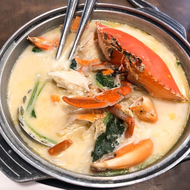Claypot Vermicelli Crab