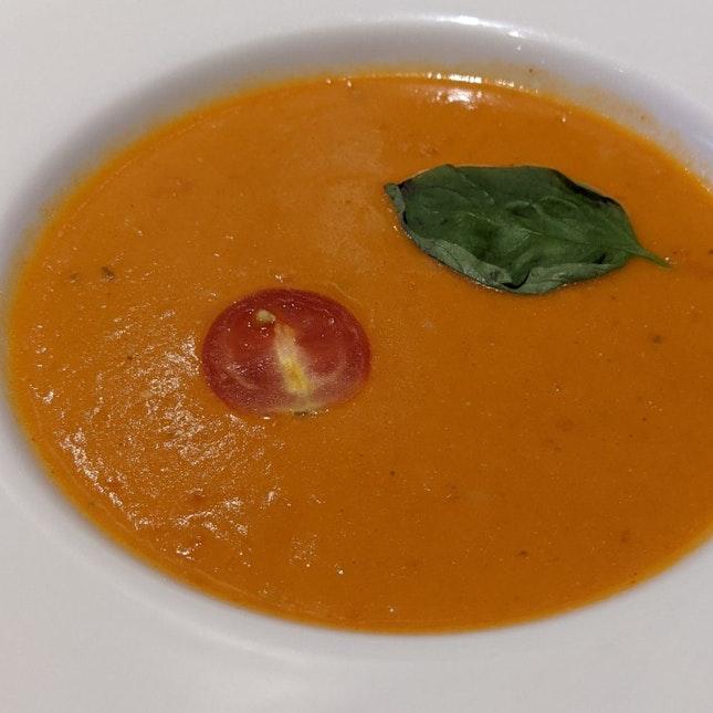 Freshly Roasted Tomato Basil Soup