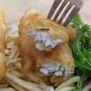 British Classic Fish and Chips ($20)