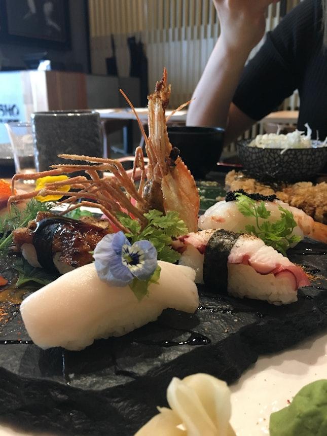 7 Kinds Nigiri Sushi Moriawase