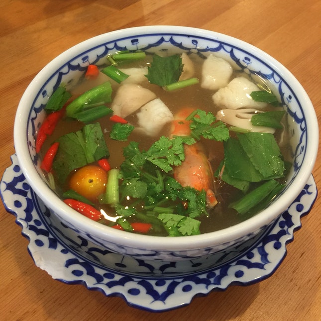 Clear Tom Yum Soup