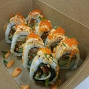 Premiun sushi rolls from Rollie Olie that is unlike your typical rolls!