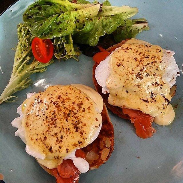 Eggs Royale ($16) - super affordable and yummy!