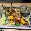 Peruvian Chicken Skewers