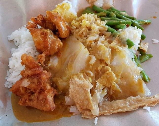 Hainanese curry rice - $3!