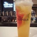 Signature fruit tea drink ($5.90) 😋 .
