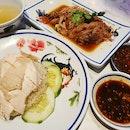Chicken rice ($4.50++) & Braised pork ($8++)!