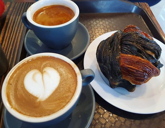 Black coffee ($1.70), Mocha ($3.30), Sor hei ($4)!