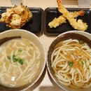 Soupy udon for dinner ($21.80)!