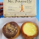 Hazelnut lava & Original baguettes (1 for $3; 2 for $4)!