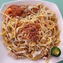 Yuan Hokkien Fried Prawn Mee 元福建炒虾面 ($4)!