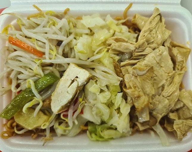Vegetarian lunch ($3)!
