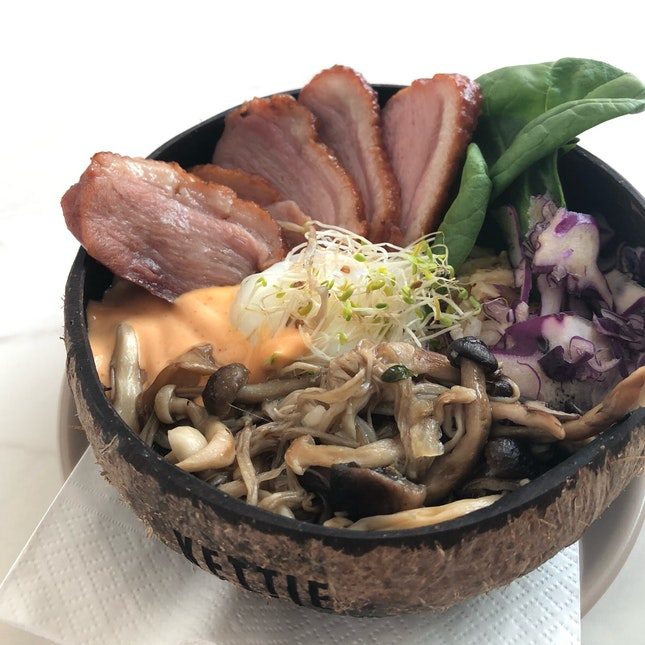 Smoked Duck Rice Bowl (RM25)