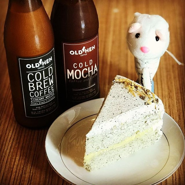 Nothing beats having a yummy craft coffee and a nice cake.
