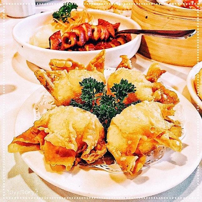 [Mouth Restaurant] Deep Fried Prawn Dumplings, S$4.