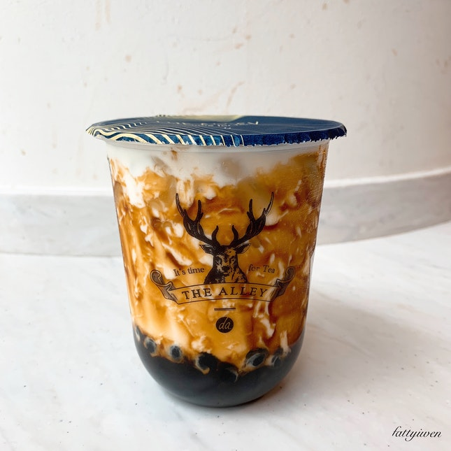 Brown Sugar Deerioca Fresh Milk ($5.30)