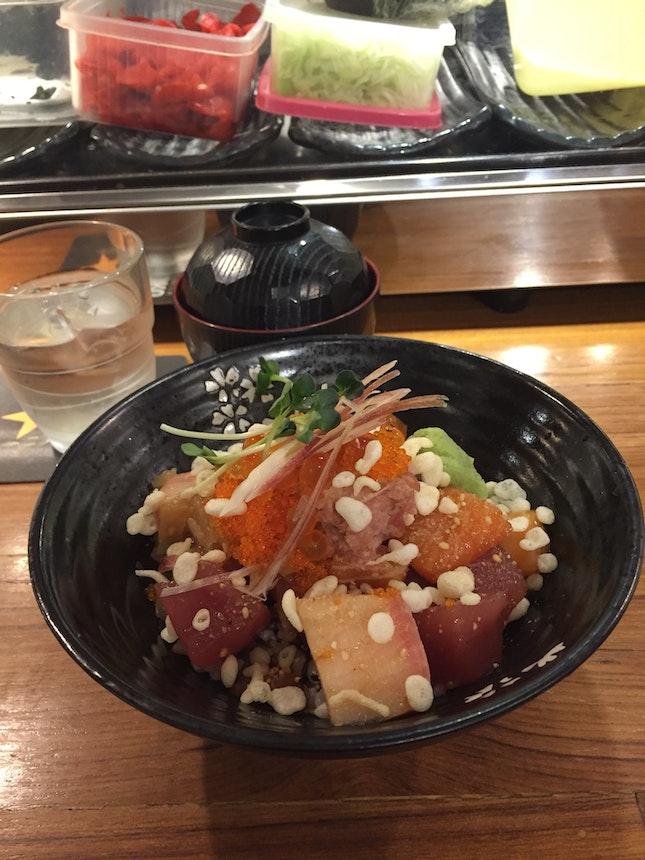 Sashimi Rice Bowl