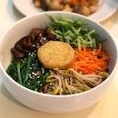 Bibimbap ($8.50) from sunny choice cafe, an organic vegetarian cafe.