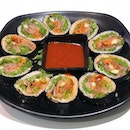 [Kimbap-$10.90]  You can choose either pork or beef for your kimbap.