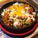 [Pasta De Dak-Galbi-$16.90]  One of the pricier mains on the menu but also one that i would recommend.
